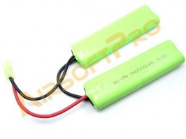 Akumulátor NiMH 9,6V 2000mAh - Twin AA [VB Power]