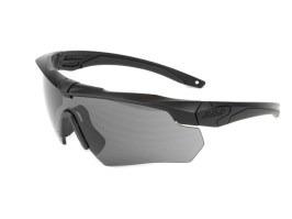 6adc0453c Ochranné okuliare Crossbow ONE s balistickou odolnosťou - tmavé [ESS] ...