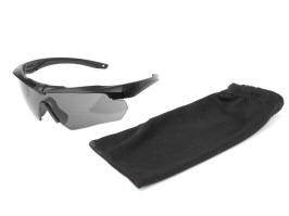 26ad65192 ... Ochranné okuliare Crossbow ONE s balistickou odolnosťou - tmavé [ESS]