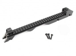 Upper carrying handle with RIS bar for G36 [JG]