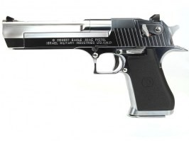 Airsoftová pištoľ Desert Eagle 50AE Chrome Stainless, plyn BlowBack (GBB) [Tokyo Marui]
