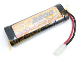 Akumulátor NiMH 9,6V 2200mAh - Medium block [VB Power]
